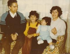 Abdul, Nadia, Houda, Nouza Filali-Ansary Family, Quincy, 1980