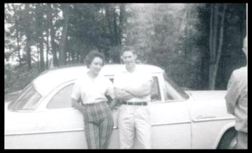 Carol and Tad, ca. 1961