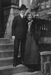Taylor Albert Duncan and Elsa Wood, 2d wife, ca. 1919-1921, courtesy of Virginia Gorman