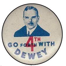 1944 Dewey Campaign Pin