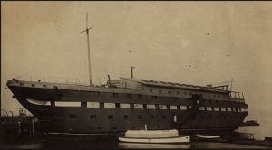 USS Granite State in New York Harbor at the time of the Spanish American War, courtesy of spanamwar.com/NYnavalmiltia