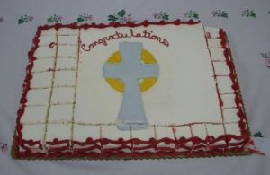Ordination Cake, thanks to epiphanycrestview dot com