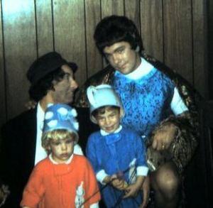 Carol, Tad, Gloria, Trey, ca. 1970 or 71