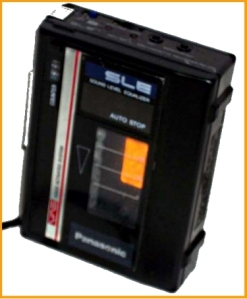 Tape Recorder Handheld