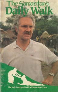Steve Duncan profile in The Samaritan's Daily Walk, front cover, 1985