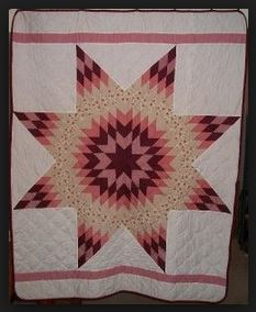 Sisseton Wahpeton Sioux 8 Point Star Quilt