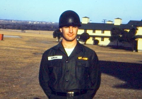 Steve in Fatigues, maybe 1963