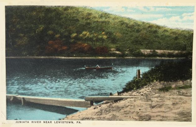 Juniata River Near Lewistown, PA.
