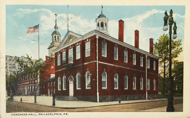 Congress Hall, Philadelphia, PA.