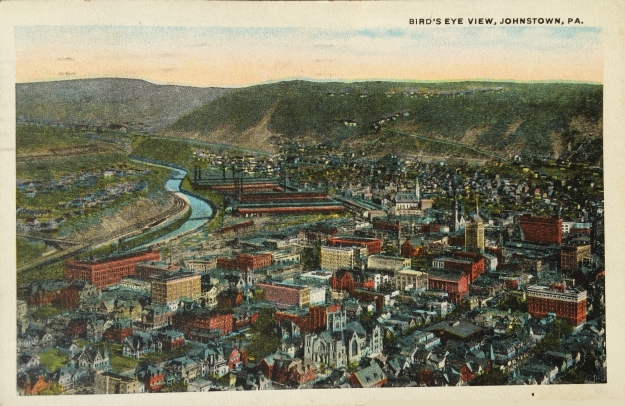 Bird's Eye View, Johnstown, PA.