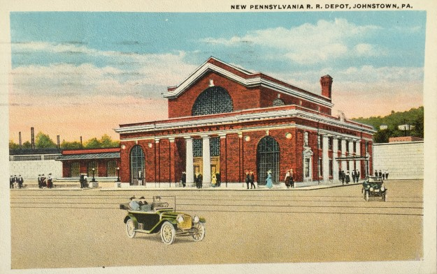 New Pennsylvania R. R. Depot, Johnstown, PA.