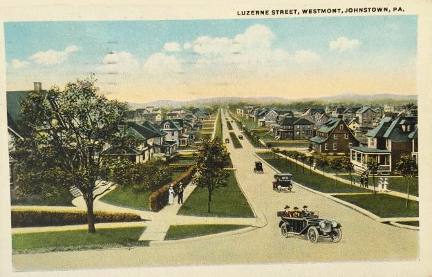 Luzerne Street, Westmont, Johnstown, PA.