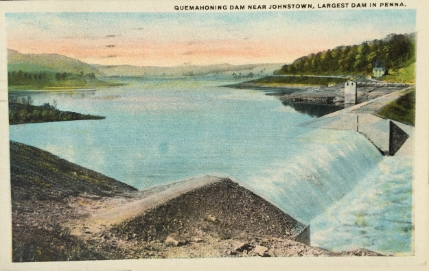 Quemahoning Dam Near Johnstown, Largest Dam in Penna.