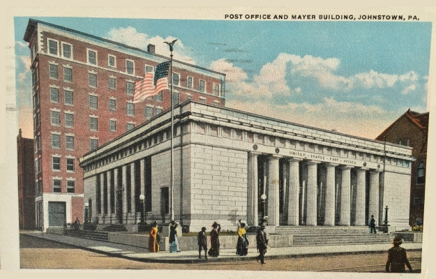 Post Office and Mayer Building, Johnstown, PA.
