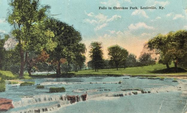 4 Falls in Cherokee Park, Louisville, Ky.