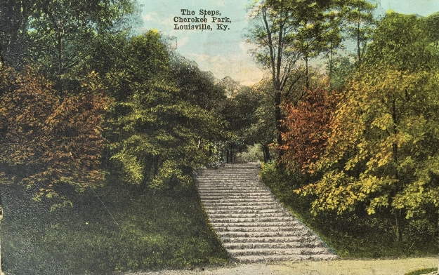 6 The Steps, Cherokee Park, Louisville, Ky.