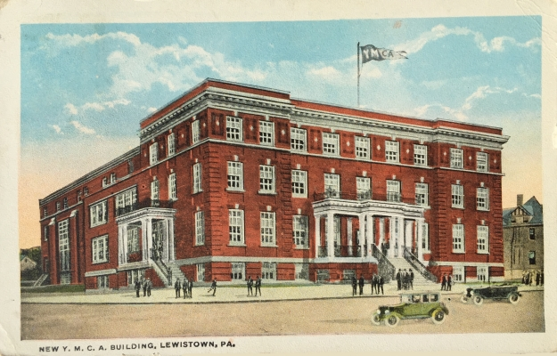 New Y. M. C. A. Building, Lewistown, PA.