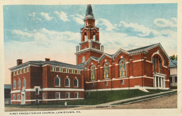 First Presbyterian Church, Lewistown, PA.